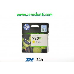 CARTUCCIA HP 920XL GIALLO YELLOW ORIGINALE CD974AE  - SCADUTA