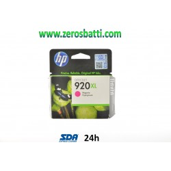 CARTUCCIA HP 920XL MAGENTA ORIGINALE CD973AE - SCADUTA