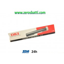TONER NERO OKI 09002395 ORIGINALE TYPE 2 - 09002395