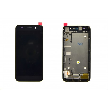 LCD DISPLAY FRAME SCHERMO TOUCH COMPLETO PER HUAWEI ASCEND Y6 NERO HONOR 4A